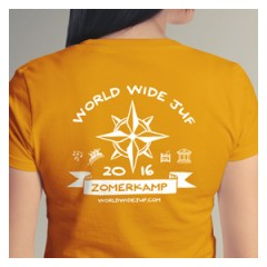 Logo ontwerp T-shirt World Wide Juf