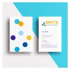 Logo en visitekaartje Smits Projectmanagement