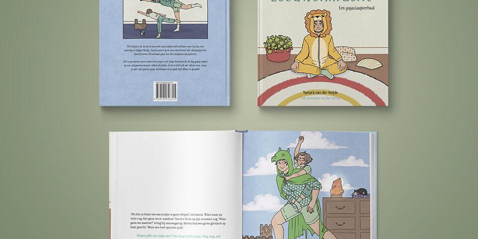 Boek Leeuwenkracht – Een yogaslaapverhaal