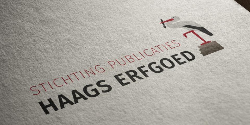Logo ontwerp Stichting Publicaties Haags Erfgoed