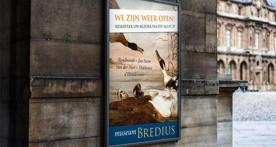 Poster Museum Bredius